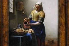 """""""Służąca"""" J. Vermeer; Rijksmuseum, A'dam"""