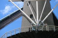 OLYMPUS DIPrzesuwanie czaszy wiatraka w stronę wiatruGITAL CAMERA
