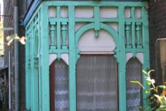 Drewniana weranda domu przy ul. Żeromskiego