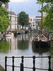 Kanał w centrum Schiedam