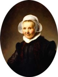 Portrait of Aeltje Uylenburgh